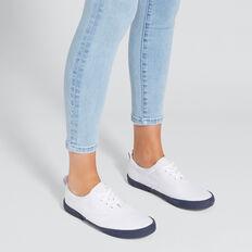 Tash Sneaker  WHITE/NAVY  hi-res