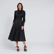 Spotty Midi Dress  SPOT  hi-res