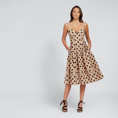 Pretty Spot Dress  TUSCAN SPOT  hi-res