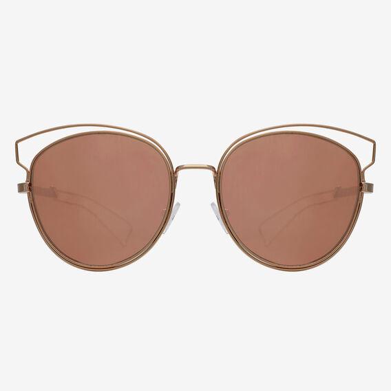 Marlow Metal Sunglasses  ROSE GOLD  hi-res