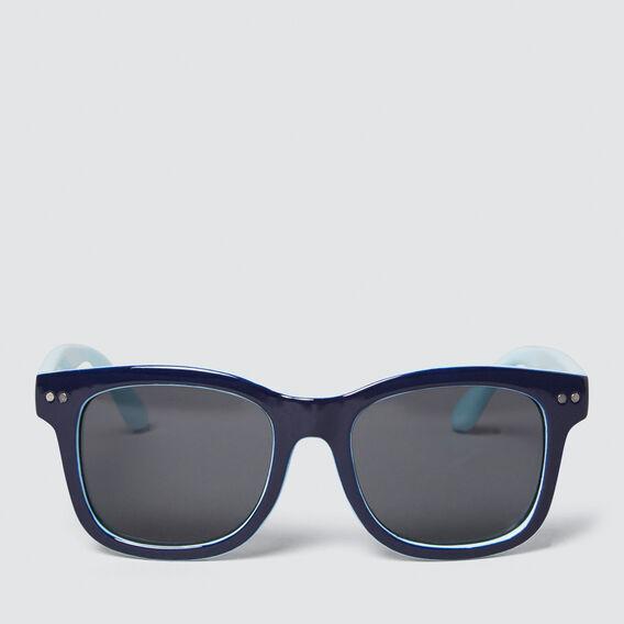 Colour Split Waymax Sunglasses  BLUE  hi-res
