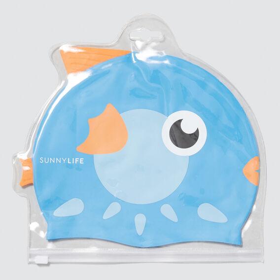 Pufferfish Swimming Cap 3-9  MULTI  hi-res