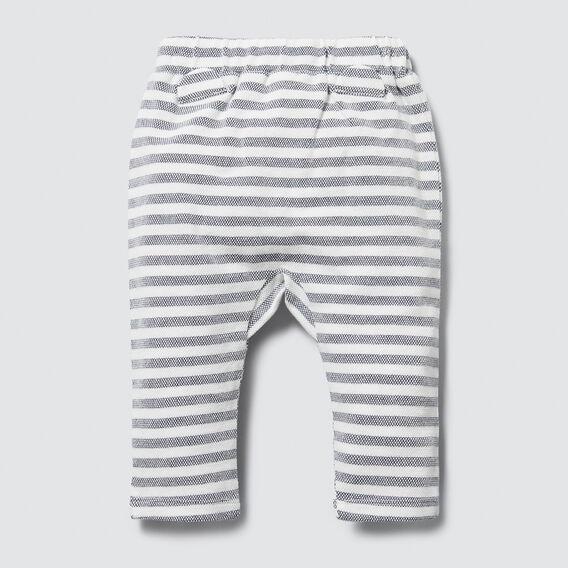 Harem Stripe Legging  VINTAGE WHITE  hi-res
