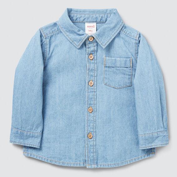 Chambray Shirt  BRIGHT WASH  hi-res