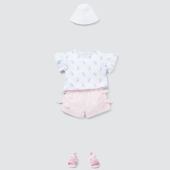 Bow Shorts  ICE PINK  hi-res
