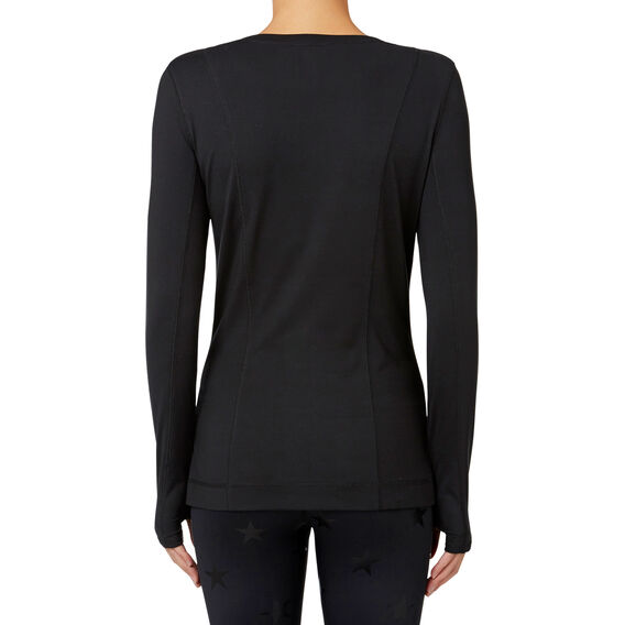 Performance Long Sleeve Top  BLACK  hi-res