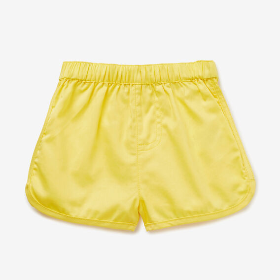 Runner Short  QUICKSAND YELLOW  hi-res