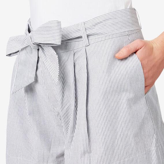 Tie Up Stripe Short  STRIPE  hi-res