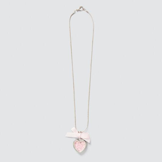 Heart Confetti Necklace  SILVER  hi-res