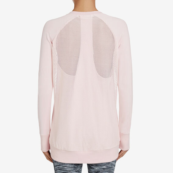 Mesh Back Top  BLUSH  hi-res