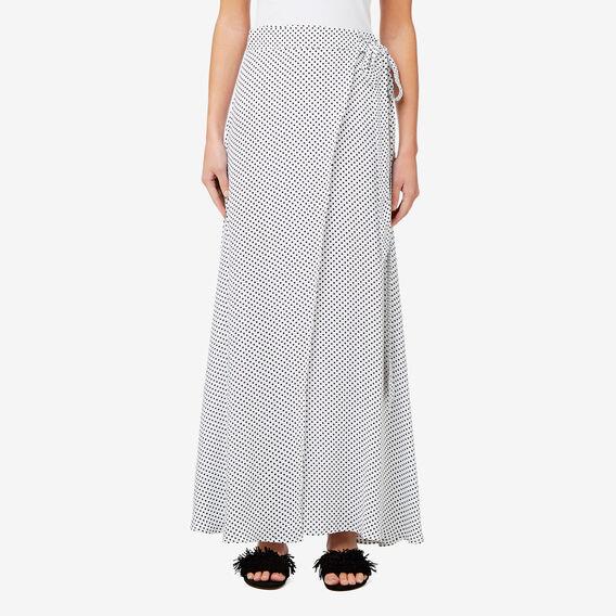 Spot Wrap Skirt  SPOT  hi-res