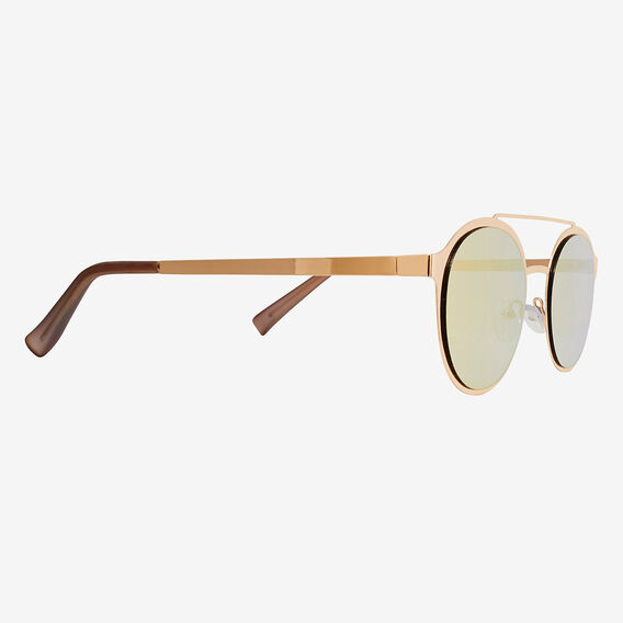 Al Round Topbar Sunglasses  GOLD  hi-res