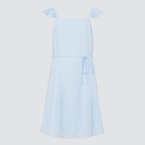 Spot Dress  BABY BLUE  hi-res