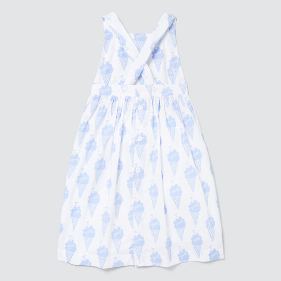 Ice Cream Yardage Dress  WHITE  hi-res