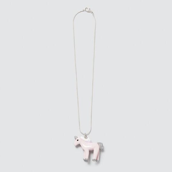Pink Unicorn Necklet  PINK  hi-res