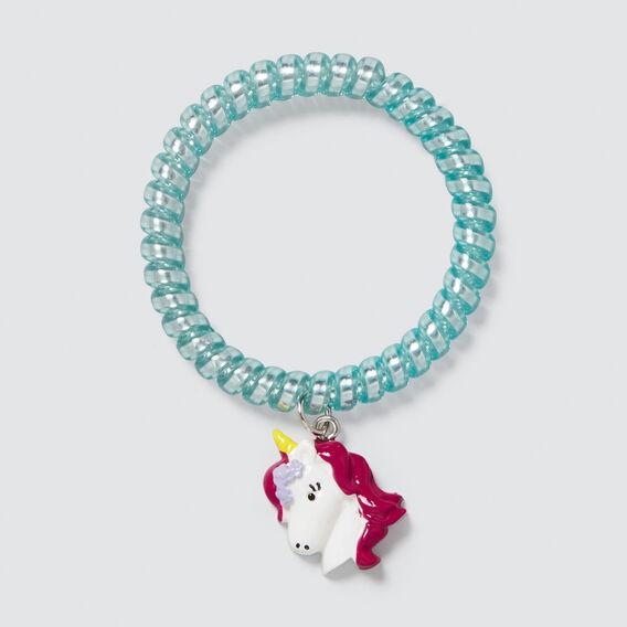 Coil Charm Bracelet  BLUE  hi-res
