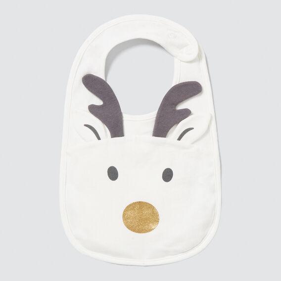 Reindeer Bib  CANVAS  hi-res
