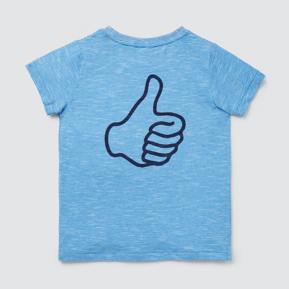 Okay Tee  CORNFLOWER BLUE  hi-res