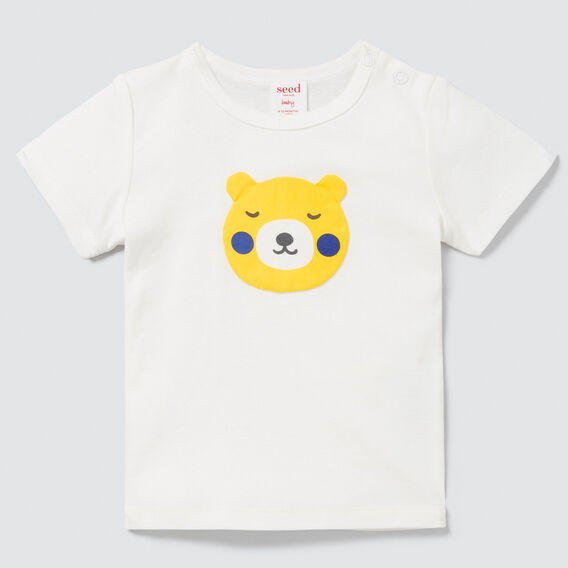 Bear Motif Tee  CANVAS  hi-res