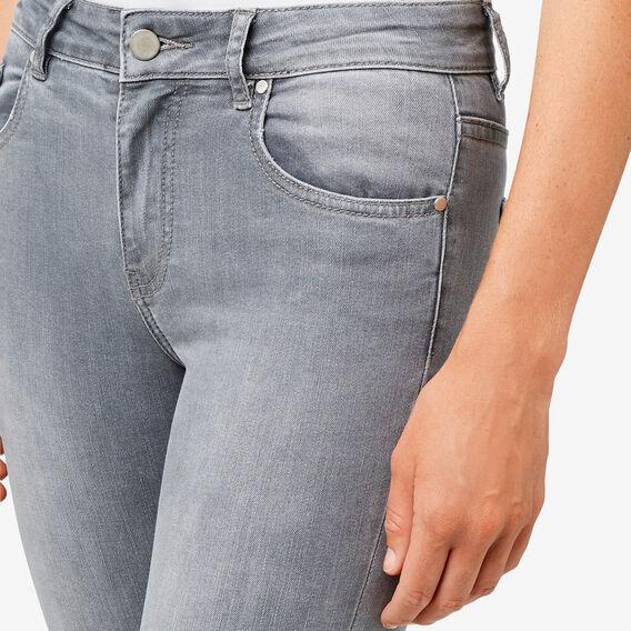 Mid-Rise Skinny Jean  LIGHT GREY DENIM  hi-res