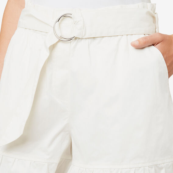 Frill Hem Short  CLOUD CREAM  hi-res