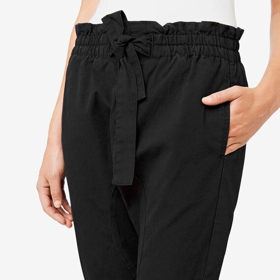 Paperbag Harem Pant  BLACK  hi-res
