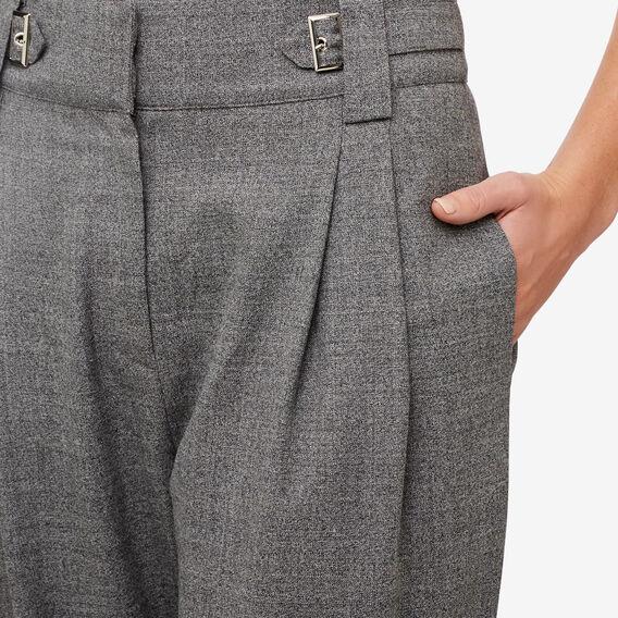 Buckle Detail Pant  SALT/PEPPER  hi-res
