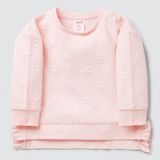 Quilted Daisy Windcheater  ICE PINK  hi-res