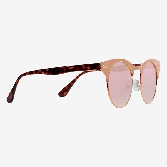Lana Half Rim Sunglasses  ROSE GOLD  hi-res