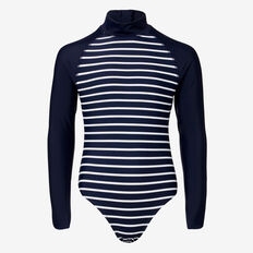 Stripe Swimsuit  MIDNIGHT  hi-res