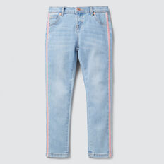 Side Stripe Jean  SOFT BLUE WASH  hi-res