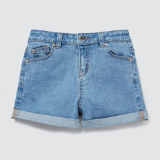 Denim Shorts  RETRO BLUE  hi-res