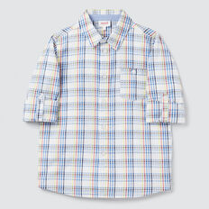 Seersucker Check Shirt  MULTI  hi-res