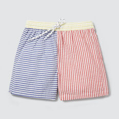 Seersucker Stripe Boardie  MULTI  hi-res