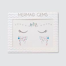 Mermaid Face Gems  MULTI  hi-res