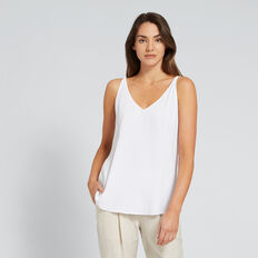 Two Way Cami  WHISPER WHITE  hi-res
