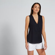 V-Neck Top  DEEP NAVY  hi-res