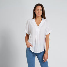 Short Sleeve Shirt  WHISPER WHITE  hi-res