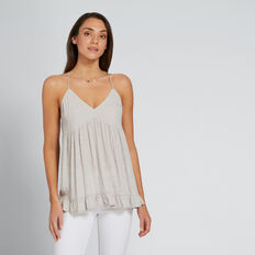 Pretty Dobby Cami  GREY TAUPE  hi-res