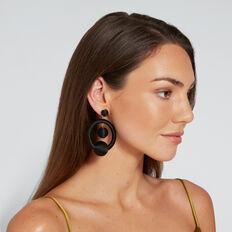 Bauble Earrings  BLACK  hi-res