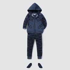 Tiger Stripe Track Pant  MIDNIGHT MARLE  hi-res
