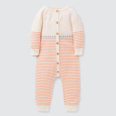 Stripe Knit Jumpsuit  NB CANVAS  hi-res