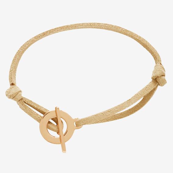 Toggle Clasp Bracelet  ROSE GOLD/NATURAL  hi-res