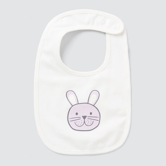 Bunny Bib  CANVAS  hi-res