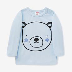 Big Bear Print Tee  PACIFIC BLUE  hi-res