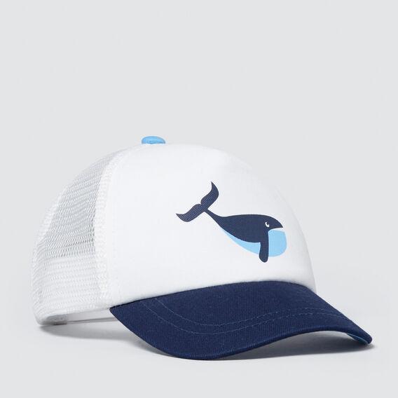 Toddler Whale Cap  MIDNIGHT BLUE  hi-res