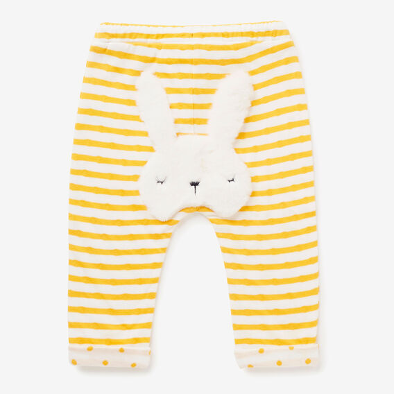 Fluffy Bunny Trackies  SUNFLOWER  hi-res