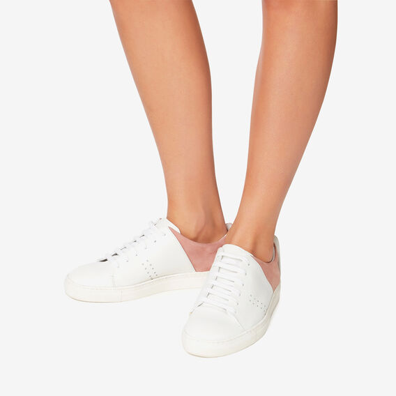 Phoebe Sneaker  WHITE/ PINK  hi-res