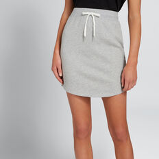 Terry Skirt  MID GREY MARLE  hi-res