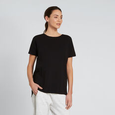 Dipped Tee  BLACK  hi-res